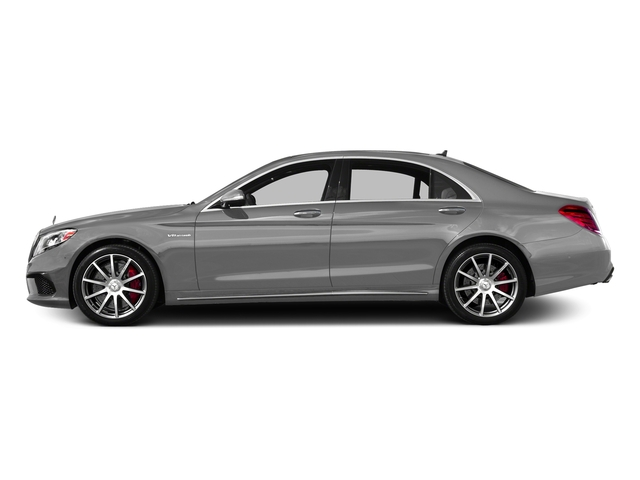 designo Magno Alanite Grey (Matte Finish) 2017 Mercedes-Benz S-Class Pictures S-Class AMG S 63 4MATIC Sedan photos side view