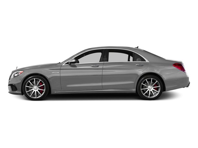 designo Magno Alanite Grey (Matte Finish) 2017 Mercedes-Benz S-Class Pictures S-Class Sedan 4D S63 AMG AWD V8 Turbo photos side view