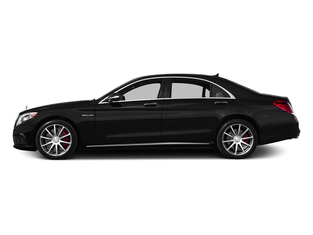 Magnetite Black Metallic 2017 Mercedes-Benz S-Class Pictures S-Class AMG S 63 4MATIC Sedan photos side view