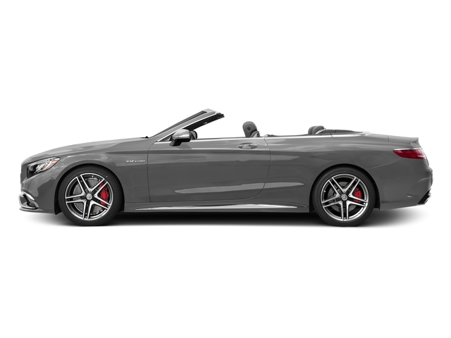 designo Magno Alanite Grey (Matte Finish) 2017 Mercedes-Benz S-Class Pictures S-Class 2 Door Cabriolet photos side view