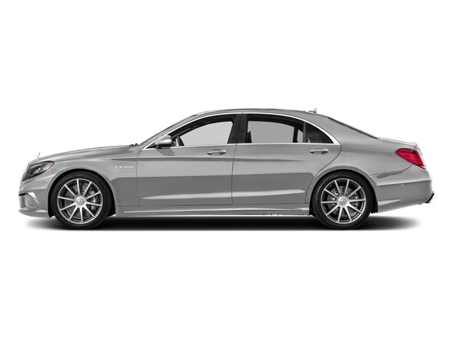 designo Magno Alanite Grey (Matte Finish) 2017 Mercedes-Benz S-Class Pictures S-Class 4 Door Sedan photos side view