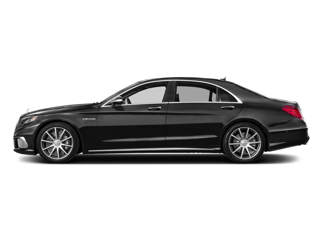 Obsidian Black Metallic 2017 Mercedes-Benz S-Class Pictures S-Class 4 Door Sedan photos side view