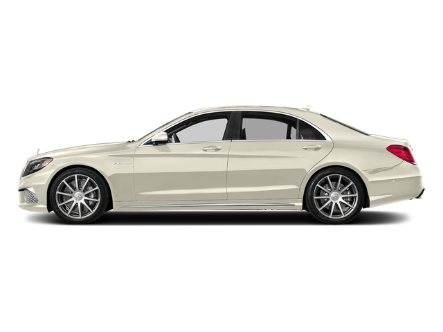 designo Diamond White Metallic 2017 Mercedes-Benz S-Class Pictures S-Class 4 Door Sedan photos side view