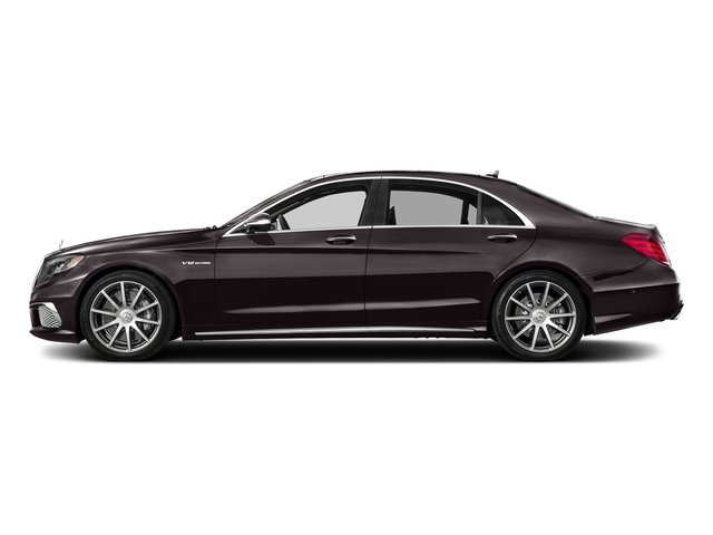 Ruby Black Metallic 2017 Mercedes-Benz S-Class Pictures S-Class 4 Door Sedan photos side view