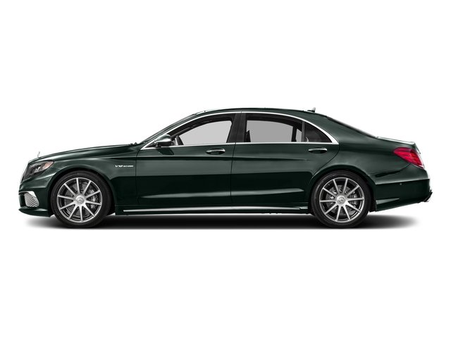 Emerald Green Metallic 2017 Mercedes-Benz S-Class Pictures S-Class 4 Door Sedan photos side view
