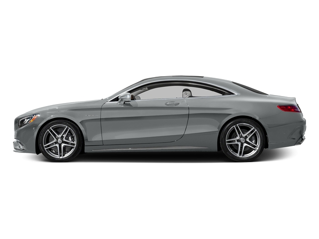 Iridium Silver Metallic 2017 Mercedes-Benz S-Class Pictures S-Class 2 Door Coupe photos side view