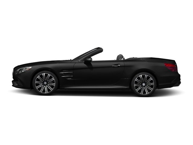 Obsidian Black Metallic 2017 Mercedes-Benz SL Pictures SL Roadster 2D SL450 V6 Turbo photos side view