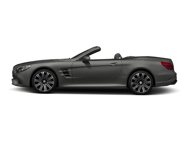 designo Magno Selenite Grey (Matte Finish) 2017 Mercedes-Benz SL Pictures SL Roadster 2D SL450 V6 Turbo photos side view