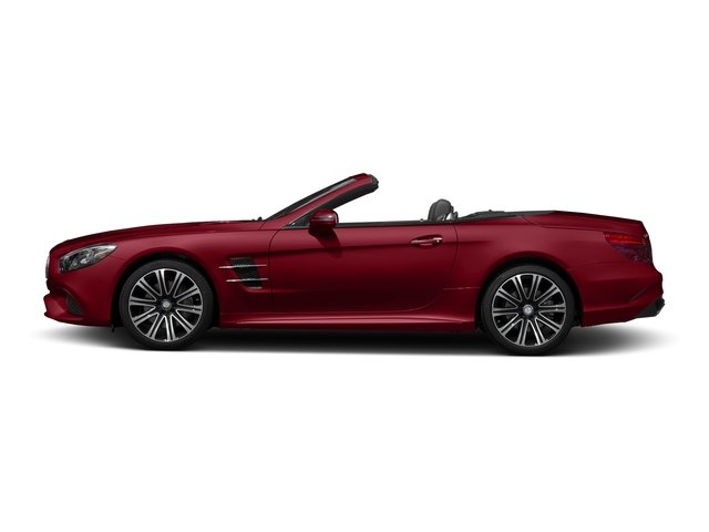 Mars Red 2017 Mercedes-Benz SL Pictures SL Roadster 2D SL450 V6 Turbo photos side view