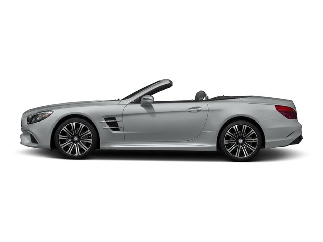 Iridium Silver Metallic 2017 Mercedes-Benz SL Pictures SL Roadster 2D SL450 V6 Turbo photos side view