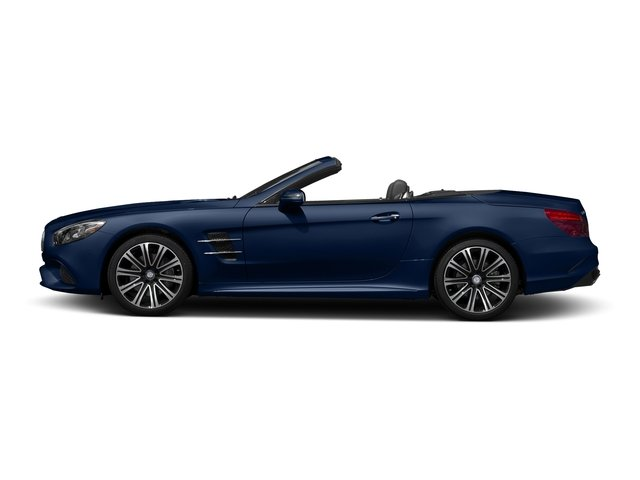 Brilliant Blue 2017 Mercedes-Benz SL Pictures SL Roadster 2D SL450 V6 Turbo photos side view