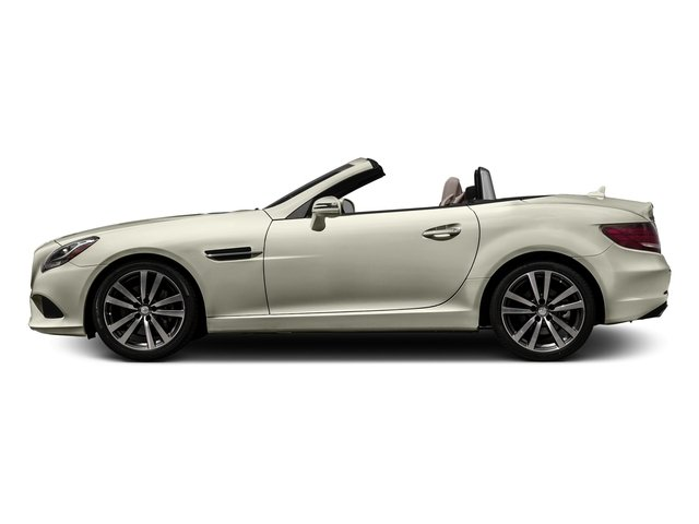 Polar White 2017 Mercedes-Benz SLC Pictures SLC Roadster 2D SLC300 I4 Turbo photos side view