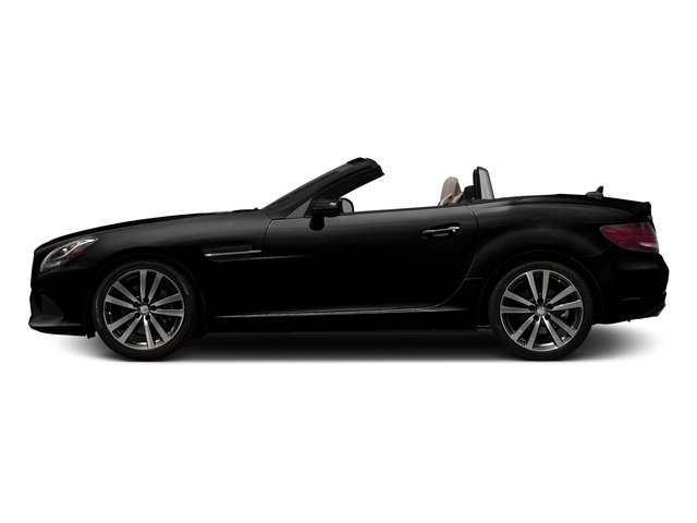 Obsidian Black Metallic 2017 Mercedes-Benz SLC Pictures SLC Roadster 2D SLC300 I4 Turbo photos side view