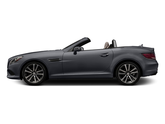 designo Shadow Grey Magno 2017 Mercedes-Benz SLC Pictures SLC Roadster 2D SLC300 I4 Turbo photos side view