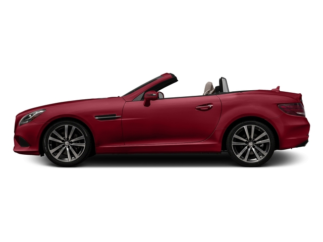 Mars Red 2017 Mercedes-Benz SLC Pictures SLC Roadster 2D SLC300 I4 Turbo photos side view