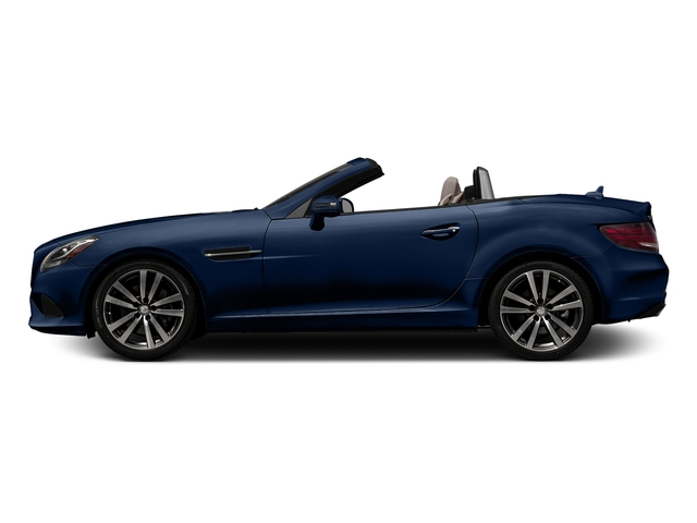 Brilliant Blue Metallic 2017 Mercedes-Benz SLC Pictures SLC Roadster 2D SLC300 I4 Turbo photos side view