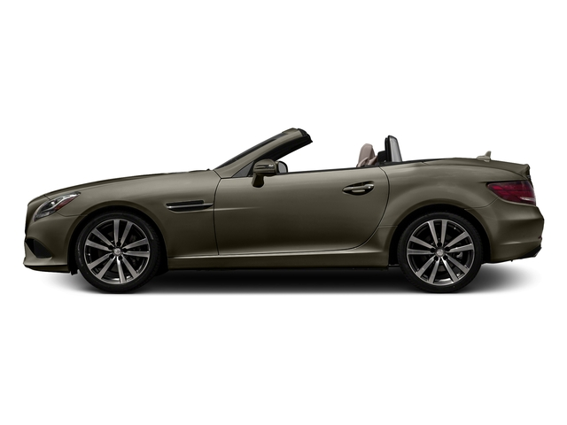 Indium Grey Metallic 2017 Mercedes-Benz SLC Pictures SLC Roadster 2D SLC300 I4 Turbo photos side view