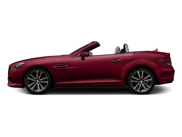 designo Cardinal Red Metallic 2017 Mercedes-Benz SLC Pictures SLC Roadster 2D SLC300 I4 Turbo photos side view
