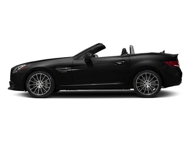 Obsidian Black Metallic 2017 Mercedes-Benz SLC Pictures SLC AMG SLC 43 Roadster photos side view