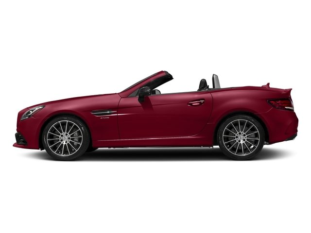 designo Cardinal Red Metallic 2017 Mercedes-Benz SLC Pictures SLC AMG SLC 43 Roadster photos side view