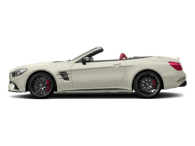 Polar White 2017 Mercedes-Benz SL Pictures SL AMG SL 63 Roadster photos side view