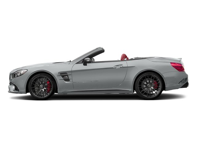 Iridium Silver Metallic 2017 Mercedes-Benz SL Pictures SL AMG SL 63 Roadster photos side view