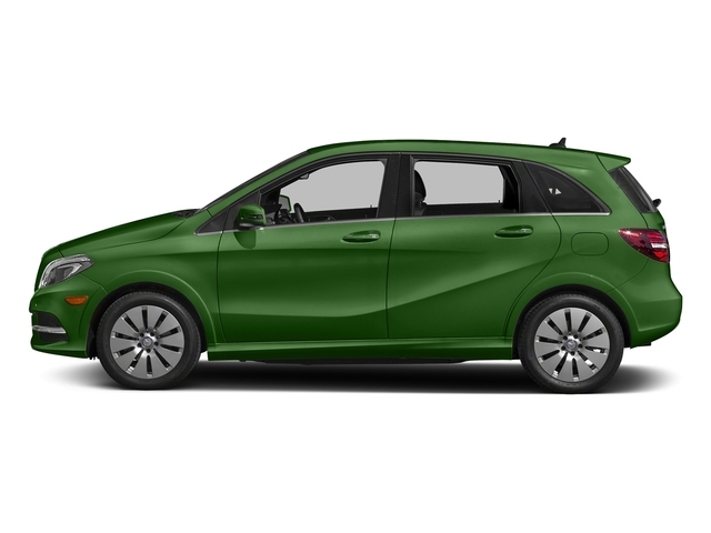 Kryptonite Green Metallic 2017 Mercedes-Benz B-Class Pictures B-Class B 250e Hatchback photos side view