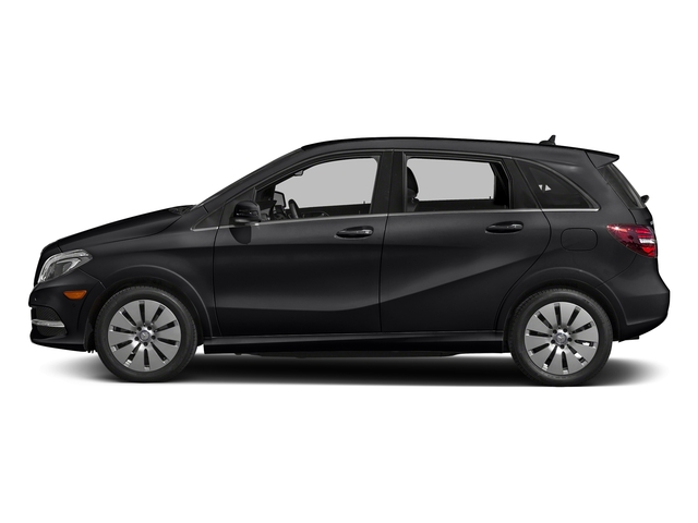 Cosmos Black Metallic 2017 Mercedes-Benz B-Class Pictures B-Class B 250e Hatchback photos side view