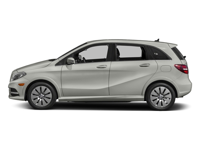 Polar Silver Metallic 2017 Mercedes-Benz B-Class Pictures B-Class B 250e Hatchback photos side view
