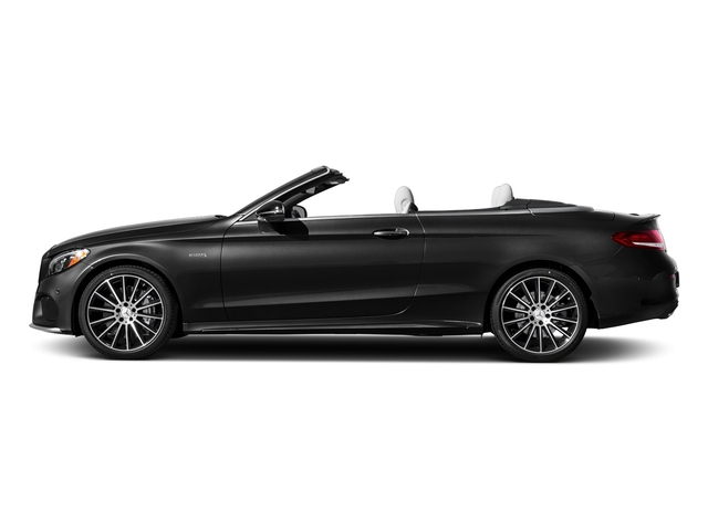 Obsidian Black Metallic 2017 Mercedes-Benz C-Class Pictures C-Class AMG C 43 4MATIC Cabriolet photos side view
