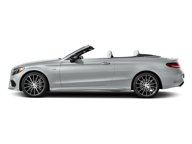Iridium Silver Metallic 2017 Mercedes-Benz C-Class Pictures C-Class AMG C 43 4MATIC Cabriolet photos side view