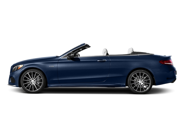 Brilliant Blue Metallic 2017 Mercedes-Benz C-Class Pictures C-Class AMG C 43 4MATIC Cabriolet photos side view