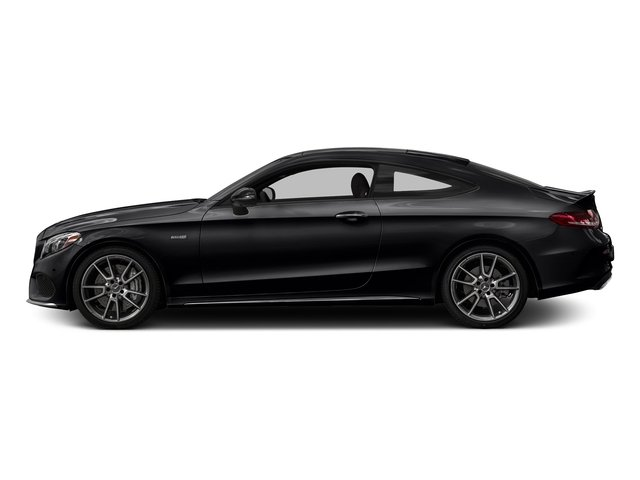 Black 2017 Mercedes-Benz C-Class Pictures C-Class AMG C 43 4MATIC Coupe photos side view