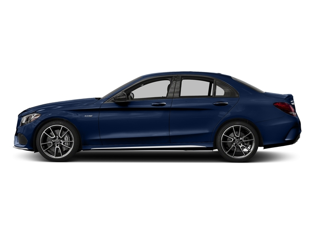 Brilliant Blue Metallic 2017 Mercedes-Benz C-Class Pictures C-Class Sedan 4D C43 AMG AWD V6 Turbo photos side view