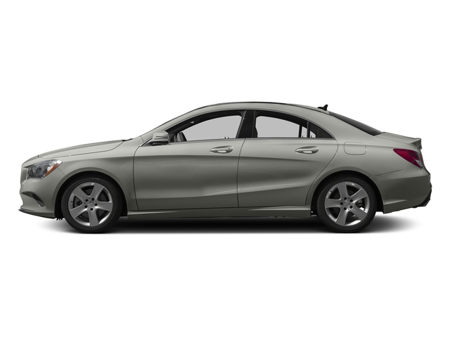 Polar Silver Metallic 2017 Mercedes-Benz CLA Pictures CLA Sedan 4D CLA250 I4 Turbo photos side view