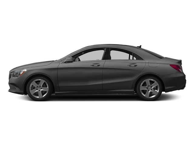 Mountain Grey Metallic 2017 Mercedes-Benz CLA Pictures CLA Sedan 4D CLA250 I4 Turbo photos side view