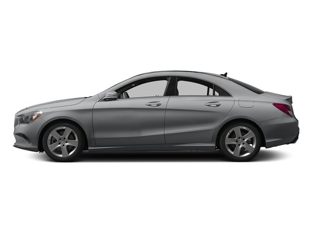 designo Magno Polar Silver (Matte Finish) 2017 Mercedes-Benz CLA Pictures CLA Sedan 4D CLA250 I4 Turbo photos side view