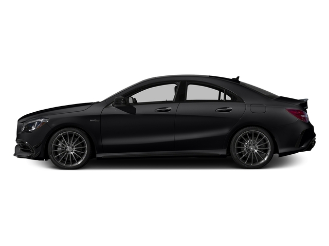 Cosmos Black Metallic 2017 Mercedes-Benz CLA Pictures CLA Sedan 4D CLA45 AMG AWD I4 Turbo photos side view
