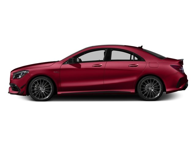 Jupiter Red 2017 Mercedes-Benz CLA Pictures CLA Sedan 4D CLA45 AMG AWD I4 Turbo photos side view