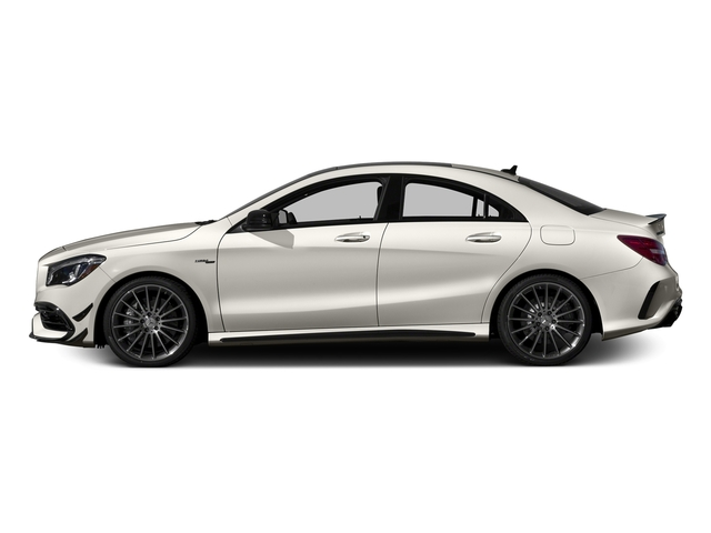 Cirrus White 2017 Mercedes-Benz CLA Pictures CLA Sedan 4D CLA45 AMG AWD I4 Turbo photos side view