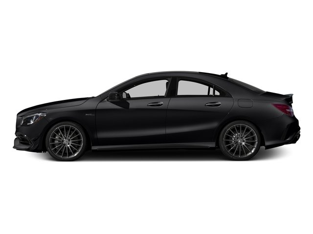 Night Black 2017 Mercedes-Benz CLA Pictures CLA Sedan 4D CLA45 AMG AWD I4 Turbo photos side view