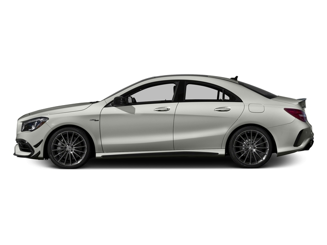 Polar Silver Metallic 2017 Mercedes-Benz CLA Pictures CLA Sedan 4D CLA45 AMG AWD I4 Turbo photos side view