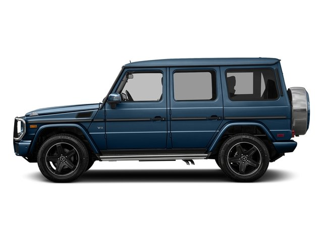 designo manufaktur Mauritius Blue Metallic 2017 Mercedes-Benz G-Class Pictures G-Class 4 Door Utility 4Matic photos side view