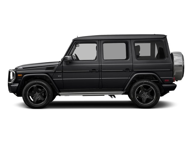 Black 2017 Mercedes-Benz G-Class Pictures G-Class 4 Door Utility 4Matic photos side view