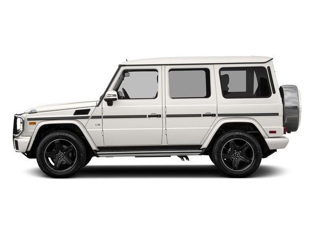designo Mystic White Metallic 2017 Mercedes-Benz G-Class Pictures G-Class 4 Door Utility 4Matic photos side view