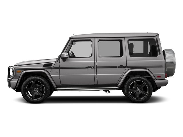 designo Magno Platinum (Matte Finish) 2017 Mercedes-Benz G-Class Pictures G-Class 4 Door Utility 4Matic photos side view