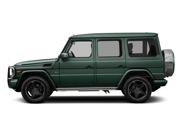 Jade Green Metallic 2017 Mercedes-Benz G-Class Pictures G-Class 4 Door Utility 4Matic photos side view