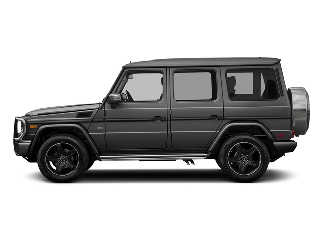 Steel Grey Metallic 2017 Mercedes-Benz G-Class Pictures G-Class 4 Door Utility 4Matic photos side view