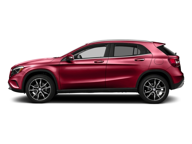 Jupiter Red 2017 Mercedes-Benz GLA Pictures GLA GLA 250 4MATIC SUV photos side view