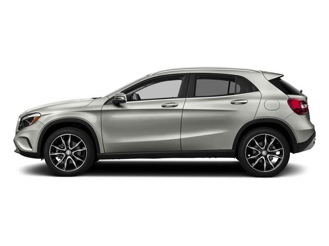 Polar Silver Metallic 2017 Mercedes-Benz GLA Pictures GLA GLA 250 4MATIC SUV photos side view
